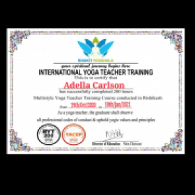 My 200hr yoga teacher certification