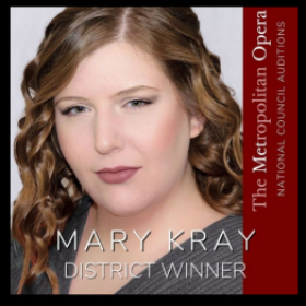 I was a winner in the Arizona District of the Metropolitan Opera National Council Auditions.