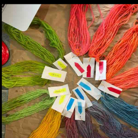 Learn to dye your own yarn.