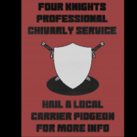 Ye Old Knights Ad.