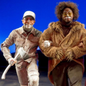 """Me as the Tin Man in """"The Wiz"""""""
