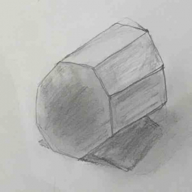 The Drawing by 10-year-old Student