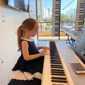 Piano lessons for 4 years old student