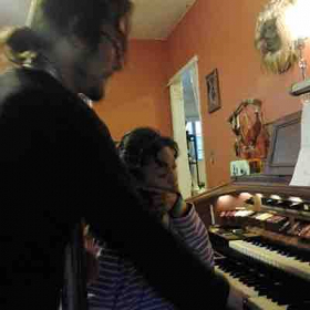 Teaching and Organ and piano student In my home in North Hollywood