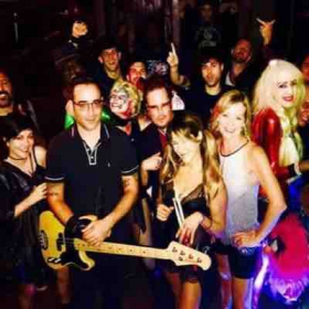My gang at the Sunset strip- we just killed it
