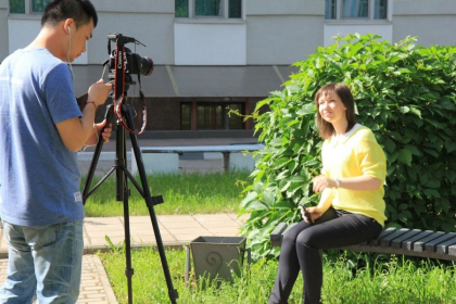 Interview for Chinese Media