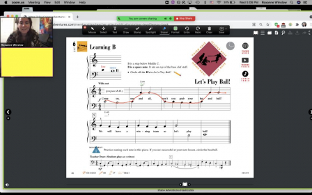 Example of how I use screensharing in online lessons to explain piano concepts