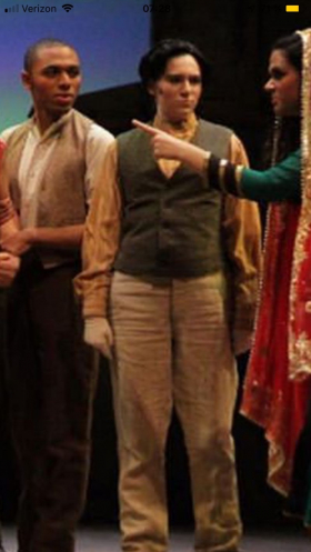 """In another pants role, in """"The Mystery of Edwin Drood"""""""
