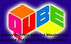 Mandrini first prize three times: top award and Mandrini was the first magician to have this honor.