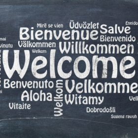 Everyone is welcome!  I have worked with clients and students from over 76 countries.
