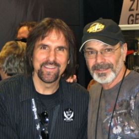 First meeting with childhood idol Danny Seraphine, Chicago's drummer.