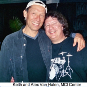 Keith J. is endorsed by Alex Van Halen