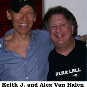 Keith J and Alex Van Halen