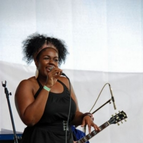 Performing at the Lansing Jazz Festival