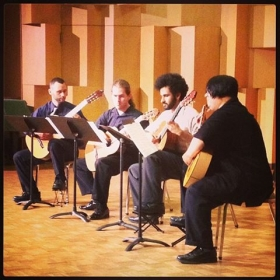 Cal State East Bay Guitar Quartet