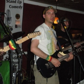 Another show at the S-Lounge with the band Iyah Ites in 2011.