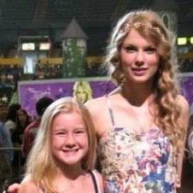 former Student Emily Brooke and Taylor Swift