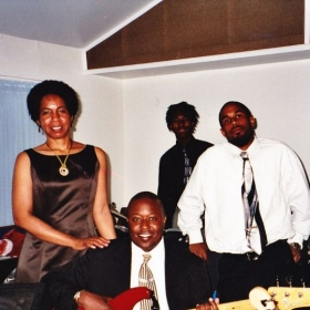 My first church band... on the guitar!