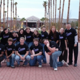 Myself in the Canyon Singers, a premiere vocal ensemble at GCU. I was with the Canyon Singers from 2006 until 2011.