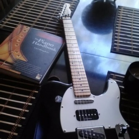 Fender Telecaster Custom Guitar with Duncan P-Rails.