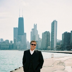 My favorite city, Chicago, where I studied at the American Conservatory of Music and the Chicago Musical College.