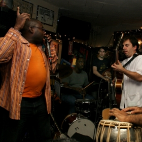 Ro release concert 2006 with NickRusso+11 (NYC 55 Bar) feat. Mark Turner, Samir Chatterjee, Miles Griffith, Willard Dyson, Matt Clohesy