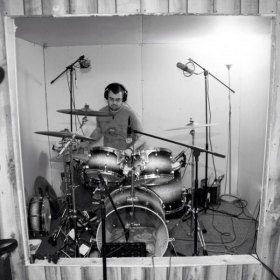 Recording at Angel City Studios, October of 2012.