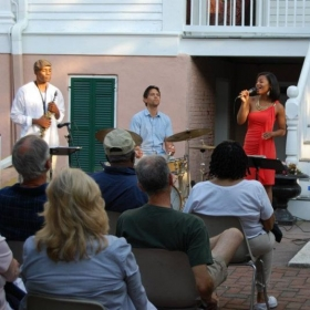 "Featured performer, ""Jazz at the Mansion"", Bellamy Mansion, Wilmington, NC June, 2012"