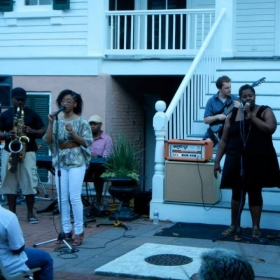 "Featured performer, ""Jazz at the Mansion"", Bellamy Mansion, Wilmington, NC June, 2013"