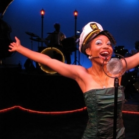 "Performing the role of ""Charlaine"" in Ain't Misbehavin', Sanford, NC 2008"