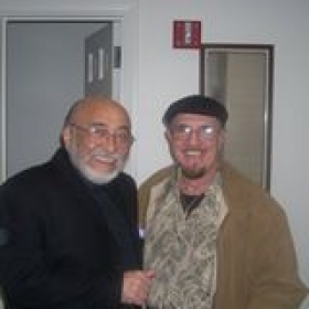 On the gig with Mr. Eddie Palmieri