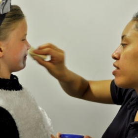 Prepping for the Wizard of Oz, Drama Works