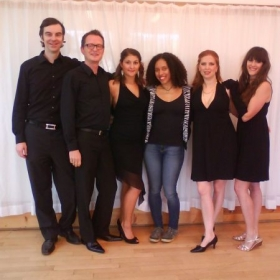 Musical Theater singing group at Tanzhaus NRW