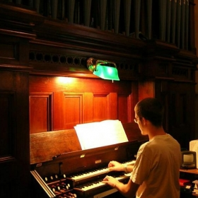 Playing an 1889 Hook & Hastings Pipe Organ