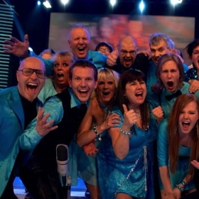 """Televised talent show, """"Clash Of The Choirs"""" 2010."""