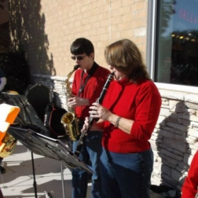 """Caroling at the Kettle"" with Athens Area Homeschool Band"