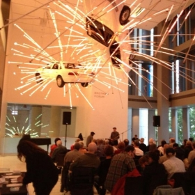 Performing at the Seattle Art Museum for the 2013 Earshot Jazz Festival.