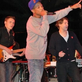 Playing  with Pharrell Williams