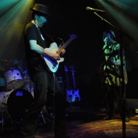 Performing at the Hamilton with power trio  GHz