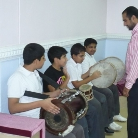 My Students in Kuwait