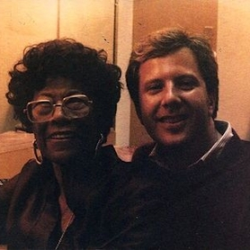 Me with Ella Fitzgerald. Ella has been my main vocal influence and mores, she was a friend.
