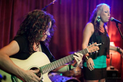 Me on guitar with American Idol Finalist Melissa McGhee