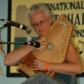 Competing at the Winfield Valley Festival Autoharp Championship, 2013