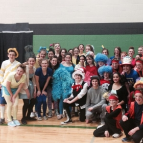 My School's Seussical Cast (Directed By Susannah Kiener)