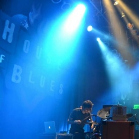 Performance at House of Blues in Disneyland, 2013.