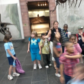 My class on field trip in Germany