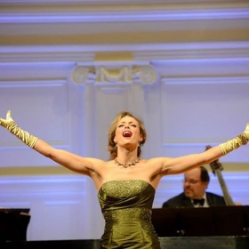 "Performing ""By Strauss"" in Light Opera Work's concert, Gershwin's Greatest Hits"