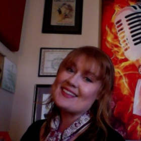 Me in my studio! Hope you'll join me!