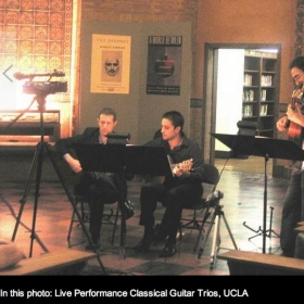 Performance at UCLA.  Picture by Henry Lim.