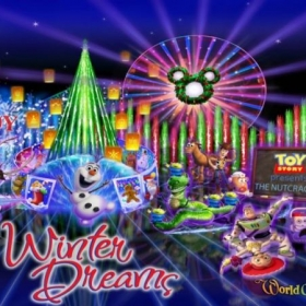 I was lucky enough to record for Disney and sing for World of Color Winter Dreams. :)